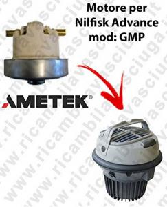 GMP  Motore de aspiración AMETEK  para aspiradora Nilfisk Advance