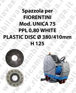 CEPILLO DE LAVADO PPL 0,80 WHITE para fregadora FIORENTINI modelo UNICA 75