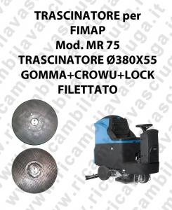 Discos de arrastre para fregadora FIMAP modelo MR 75