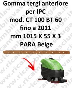 CT 100 BT 60 fino 2011 goma de secado delantera para IPC