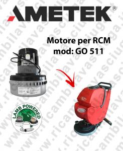 GO 511 motor de aspiración LAMB AMETEK fregadora RCM