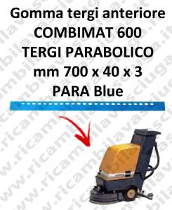 COMBIMAT 600 goma de secado fregadora delantera para TASKI