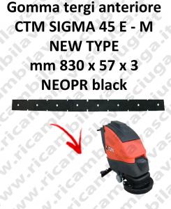 SIGMA 45 E - M new type GOMMA TERGI lavapavimenti anteriore per CTM