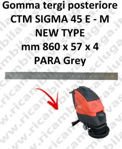 SIGMA 45 E - M new type GOMMA TERGI lavapavimenti posteriore per CTM