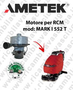 MARK I 552 T Motore de aspiracion LAMB AMETEK fregadora RCM