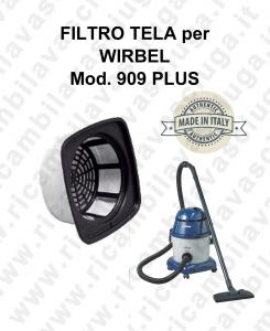 Filtro de tela para aspiradora WIRBEL Model 909 PLUS