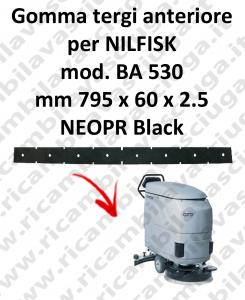 BA 530 goma de secado delantera para fregadora Nilfisk