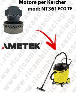 NT361 ECO TE motor de aspiración AMETEK  para aspiradora KARCHER