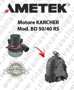 BD 50/40 RS motor de aspiración AMETEK fregadora KARCHER