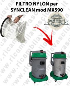 SACCO  Filtro de Nylon cod: 3001220 para aspiradora MAXICLEAN Model MX590 BY SYNCLEAN
