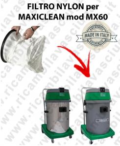 SACCO Filtro de Nylon cod: 3001220 para aspiradora MAXICLEAN Model MX60 BY SYNCLEAN