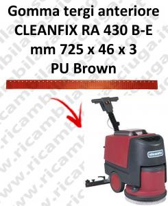 RA 430 B-E goma de secado delantera para fregadora  CLEANFIX