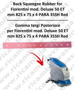 DELUX 50 ET new type goma de secado trasero para fregadora  FIORENTINI