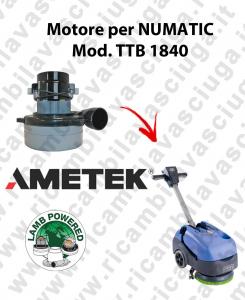 TTB 1840 motor de aspiración AMETEK fregadora NUMATIC