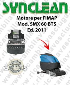 SMX 60 BTS Ed. 2011 motor de aspiración LAMB AMETEK fregadora FIMAP