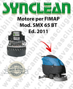 SMX 65 BT Ed. 2011 motor de aspiración LAMB AMETEK fregadora FIMAP