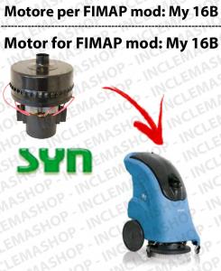 My 16 B motor de aspiración SYN para fregadora FIMAP