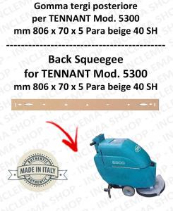 5300 goma de secado trasero PARA beige para fregadora TENNANT 40 SH