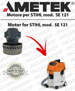 SE 121 motor de aspiración AMETEK  para aspiradora e aspiraliquidi STIHL