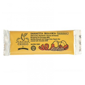 FROZEN ALCOHOL, MANDORLE AND ORANGE PASTRY WITH CHOCOLATE FONDENT 80% BIO