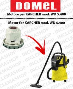 WD 5.400  motor de aspiración DOMEL para aspiradora KARCHER