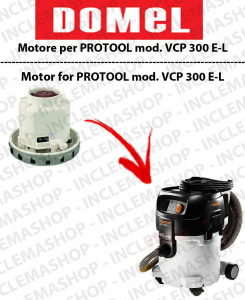 VCP 300 E-L Motore de aspiración DOMEL para aspiradora PROTOOL