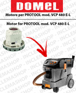 VCP 480 E-L Motore de aspiración DOMEL para aspiradora PROTOOL