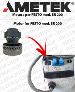 SR 200  motor de aspiración AMETEK  para aspiradora FESTO