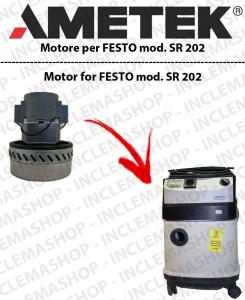 SR 202  motor de aspiración AMETEK  para aspiradora FESTO