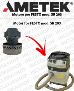 SR 203  motor de aspiración AMETEK  para aspiradora FESTO