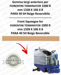 TERMINATOR 1000 R goma de secado trasero para fregadora  FIORENTINI