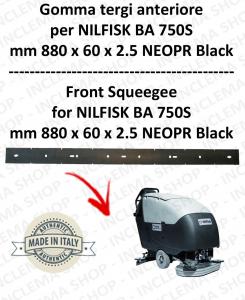 BA 750S goma de secado delantera para fregadora  NILFISK