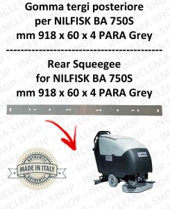 BA 750S goma de secado trasero para fregadora  NILFISK
