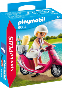 PLAYMOBIL RAGAZZA CON SCOOTER 9084