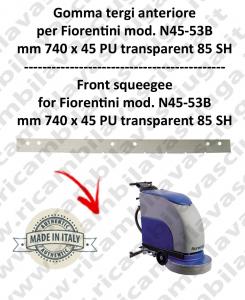 N45-53B goma de secado delantera para fregadora  FIORENTINI