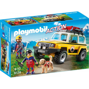 PLAYMOBIL JEEP SOCCORSO ALPINO 9128