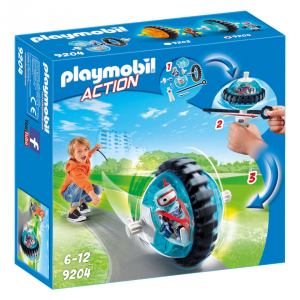 PLAYMOBI SPEED ROLLER BLU CON ROBOT 9204