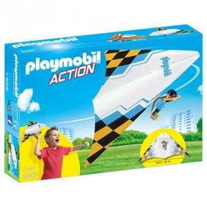 PLAYMOBI DELTAPLANO BIANCO CON PILOTA 9206