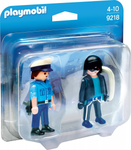 PLAYMOBI POLIZIOTTO E LADRO 9218