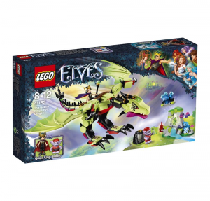 LEGO ELVES IL DRAGO MALVAGIO DEL RE GOBLIN 41183