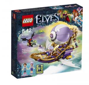 LEGO ELVES LA BARCA VOLANTE DI AIRA E L'INSEGUIMENTO DELL'AMULETO 41184