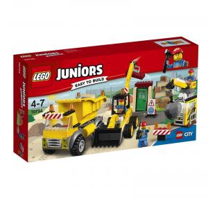 LEGO JUNIORS CANTIERE DI DEMOLIZIONE 10734