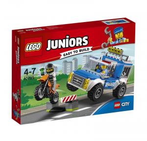 LEGO JUNIORS INSEGUIMENTO SUL FUORISTRADA DELLA POLIZIA 10735