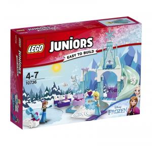 LEGO JUNIORS IL CASTELLO DI GHIACCIO DI ELSA E ANNA 10736
