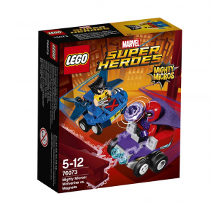 LEGO SUPER HEROES MIGHTY MICROS: WOLVERINE CONTRO MAGNETO 76073