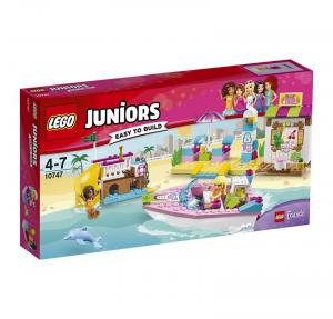 LEGO JUNIORS VACANZE AL MARE 10747