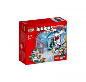 LEGO JUNIORS INSEGUIMENTO SULL'ELICOTTERO DELLA POLIZIA 10720