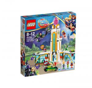 LEGO SUPER HERO GIRLS IL LICEO DEI SUPER EROI 41232