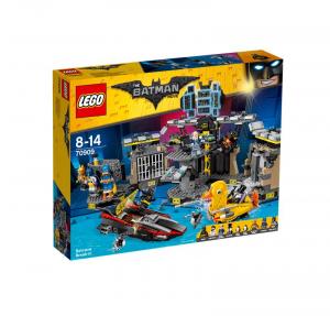 LEGO THE BATMAN MOVIE SCASSO ALLA BATCAVERNA 70909