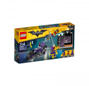 LEGO THE BATMAN MOVIE INSEGUIMENTO SULLA CATCYCLE DI CATWOMAN 70902